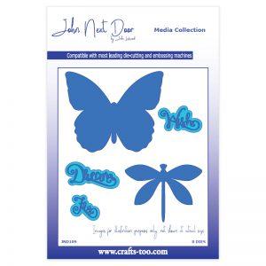 John Next Door – Butterfly & Dragonfly Die Set