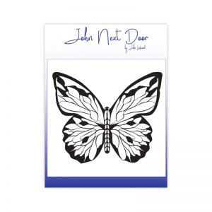 John Next Door – Clear Stamp – Bold Butterfly