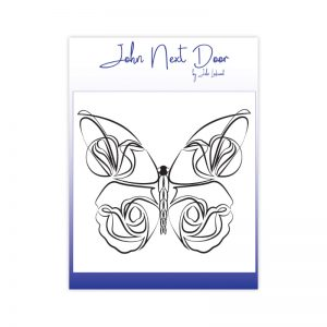 John Next Door – Delicate Butterfly Clear Stamp