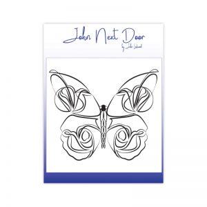 John Next Door – Delicate Butterfly Clear Stamp