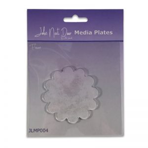 John Next Door – Flower Media Plate