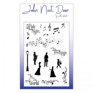 John Next Door – Christmas Music Clear Stamps