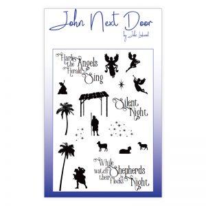 John Next Door – While Shepherds Clear Stamp