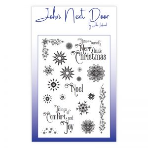 John Next Door – Snowflakes Clear Stamps