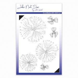 John Next Door – Blousy Poppy Clear Stamp