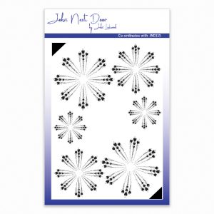John Next Door – Cornflower Clear Stamp