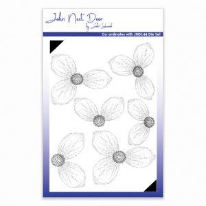 John Next Door – Christmas Rose Clear Stamp