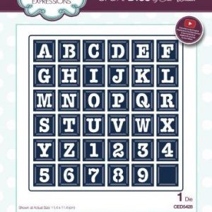 Expressions Collection – Alphabet Grid Die