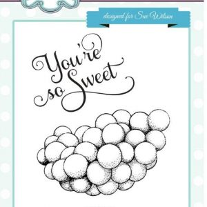 You're So Sweet Pre Cut Stamp Set