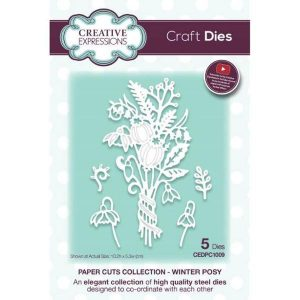 Paper cut collection – Winter Posy