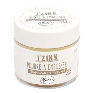 Aladine Embossing Powder – Clear