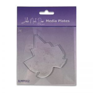 John Next Door Media Plate – Leaf